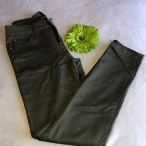 Celebrity Pink Skinny Jeans Olive color